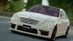 Mercedes-Benz S Class W221 Black Bison 2009 pour GTA 4