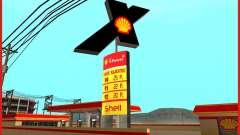Nouvelle station d'essence Shell