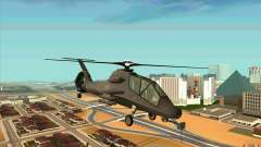 Sikorsky RAH-66 Comanche default grey pour GTA San Andreas