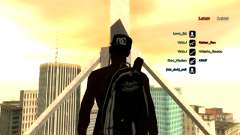 Rucksack-Fallschirm für GTA: SA
