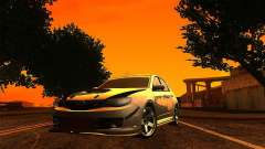 Subaru Impreza WRX 2008 Tunable für GTA San Andreas