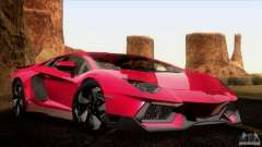 Lamborghini Aventador LP-700 J pour GTA San Andreas