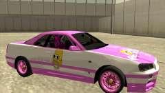 Nissan Skyline R34 Mr.SpaT für GTA San Andreas