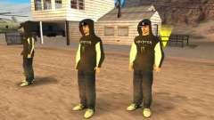 Ken Block Family pour GTA San Andreas