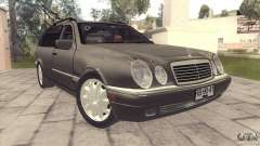 Mercedes-Benz E320 Funeral Hearse für GTA San Andreas