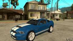 Ford Mustang Shelby GT500 2011 für GTA San Andreas