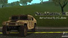Sand Patriot HD für GTA San Andreas