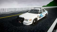 Ford Crown Victoria v2 NYPD [ELS] pour GTA 4
