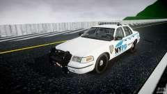 Ford Crown Victoria v2 NYPD [ELS] für GTA 4