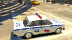 Police VAZ-2105 pour GTA 4