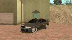 Skoda Octavia Taxi für GTA San Andreas