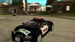 Bugatti Veyron police San Fiero pour GTA San Andreas