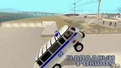 UAZ-Polizei für GTA San Andreas