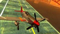 P51D Mustang Red Tails