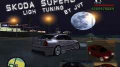 Skoda Superb Light Tuning für GTA San Andreas