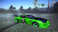 Toyota Supra Tuned für GTA San Andreas