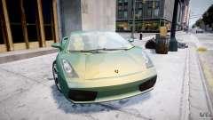 Lamborghini Gallardo für GTA 4