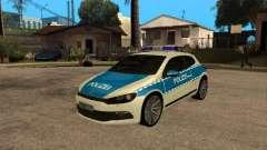 Volkswagen Scirocco German Police für GTA San Andreas