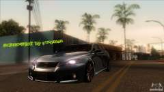 Lexus IS-F pour GTA San Andreas