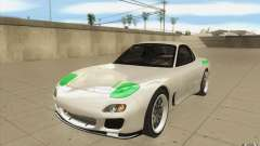 Mazda FD3S - Ebisu Style für GTA San Andreas