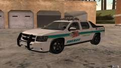 Chevrolet Avalanche Orange County Sheriff