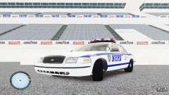 Ford Crown Victoria 2003 NYPD für GTA 4