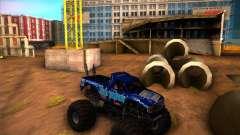 Monster Truck Blue Thunder
