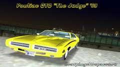 Pontiac GTO The Judge 1969