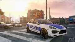 Porsche Cayenne Cop