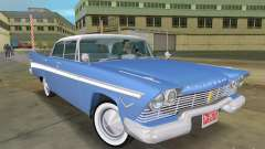 Plymouth Belvedere 1957 sport sedan