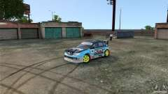 Subaru Impreza WRX STI Rallycross KMC Wheels