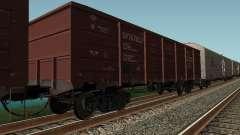 Société cargo wagon ouvert