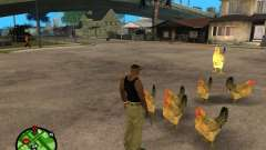 Hühner in GTA San Andreas
