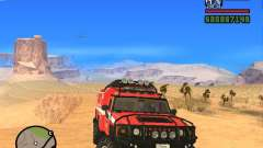HZS Hummer H2 pour GTA San Andreas