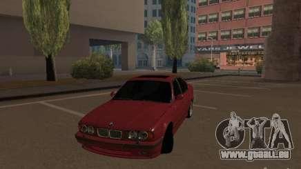 BMW E34 M5 pour GTA San Andreas