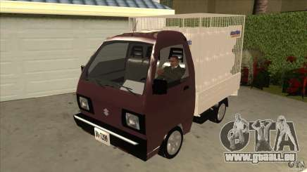 Suzuki Carry 4wd 1985 Abastible pour GTA San Andreas