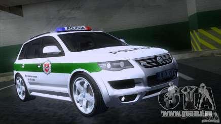 Volkswagen Touareg Policija pour GTA San Andreas