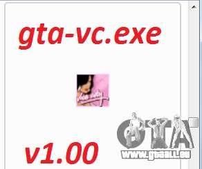 gta-vc.exe v1.00 pour GTA Vice City