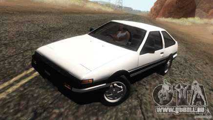 Toyota Sprinter Trueno AE86 GT-Apex pour GTA San Andreas