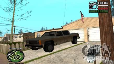 Rancher 4 Doors Pick-Up für GTA San Andreas