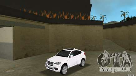 BMW X6M 2010 für GTA Vice City