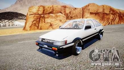 Toyota Corolla Levin AE86 v.1.0 pour GTA 4