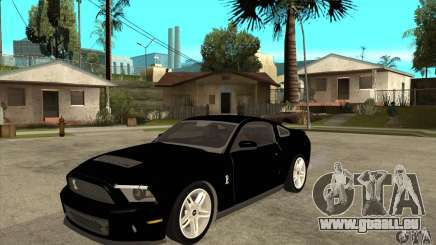 Ford Shelby GT 500 2010 pour GTA San Andreas