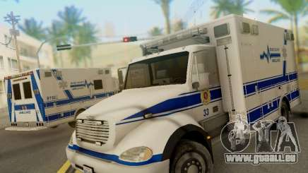 Freightliner Bone County Police Fire Medical für GTA San Andreas