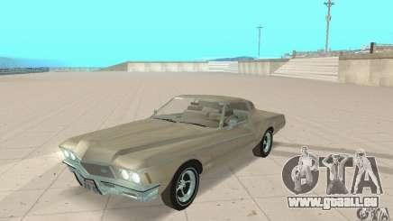 Buick Riviera 1972 Boattail pour GTA San Andreas