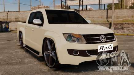 Volkswagen Amarok Light Tuning pour GTA 4