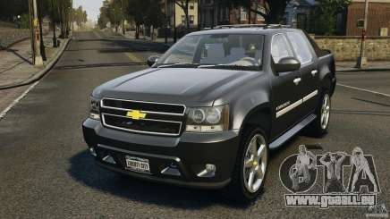 Chevrolet Avalanche Stock [Beta] für GTA 4