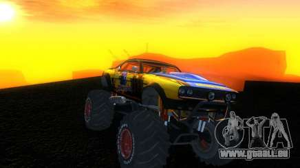 Fire Ball Paint Job 2 pour GTA San Andreas