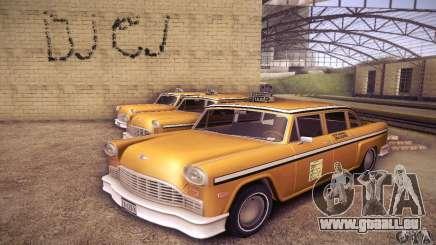 Cabbie HD für GTA San Andreas
