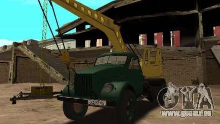 GAZ 51-Mobilkran für GTA San Andreas